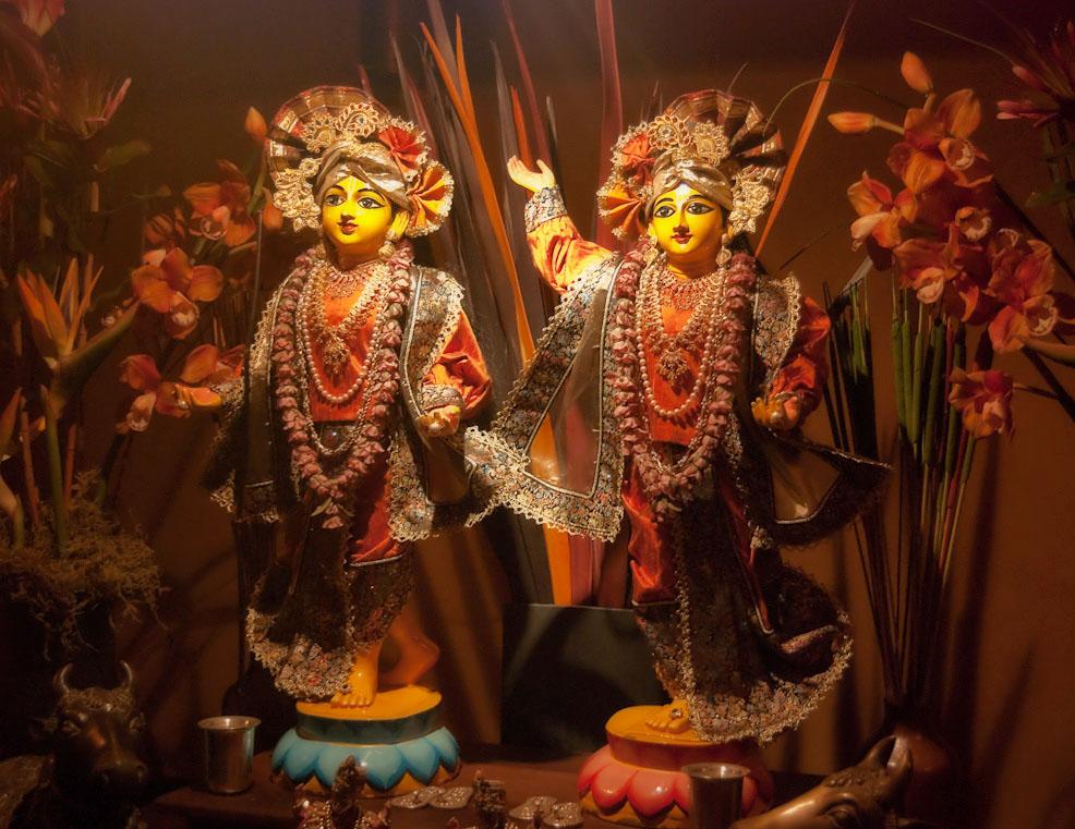 Sri Sri Gaura-Nitai at Audarya